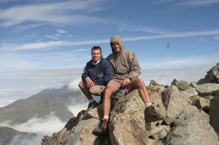 au sommet de l'Ossau !!