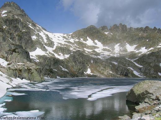 Lac Pourtet (2420 m)