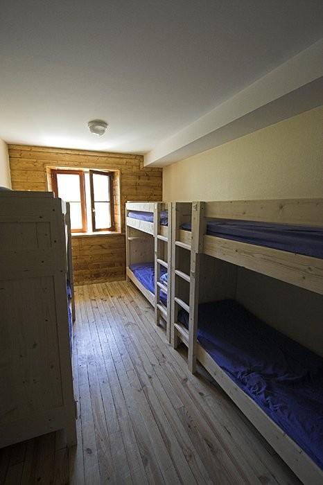 Chambres du refuge de la Glère