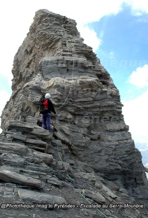 Escalade au Serre-Mourène