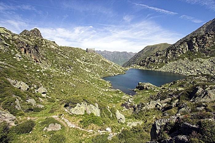 Randonn�e p�destre : Randonn�e au lac et refuge de la Gl�re