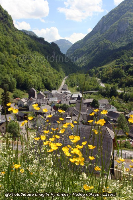 Etsaut, vallée d'Aspe