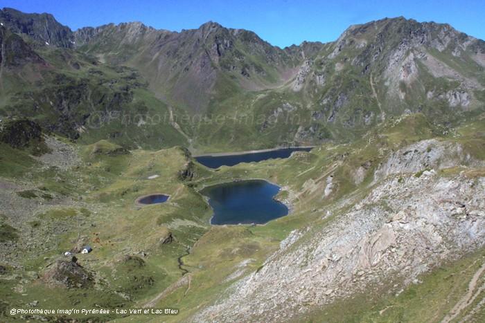 Lac Vert, lac Bleu