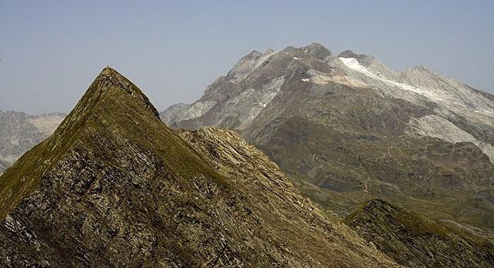 Pic de Gabiet et glacier d'Ossoue
