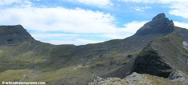 Pic de la Gela - Col de la Gela - Pic de Gerbats