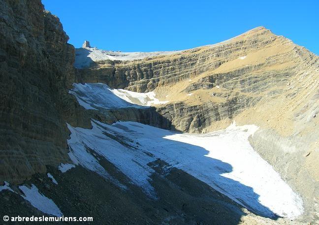 Le Taillon - le Doigt de la Fausse Brêche - le Glacier du Taillon