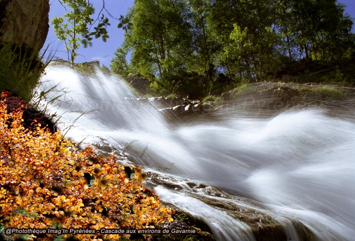 Cascade à Gavarnie