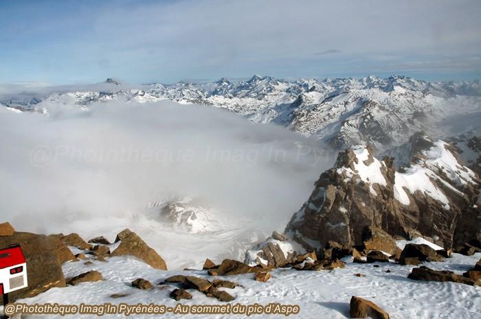 Pic d'Aspe, au sommet