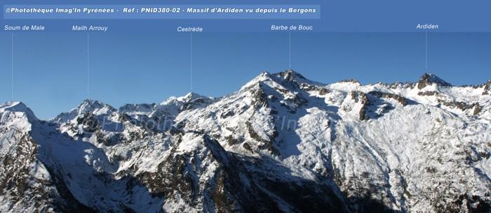 panorama sur l'Ardiden