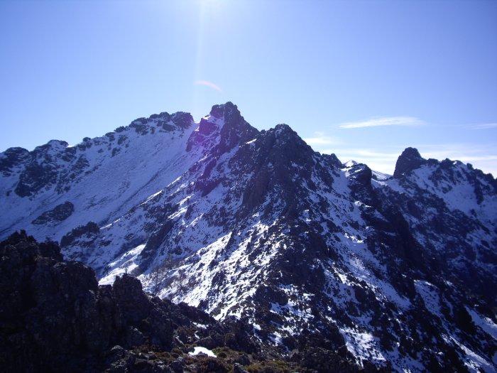 Punta Radiche vue du sommet du Montegrossu