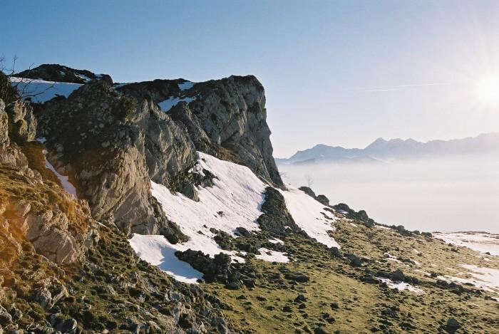 Soum Alhès, au col d'Andorre