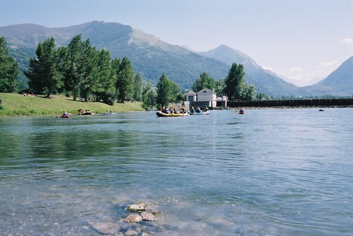 Le lac des Gaves
