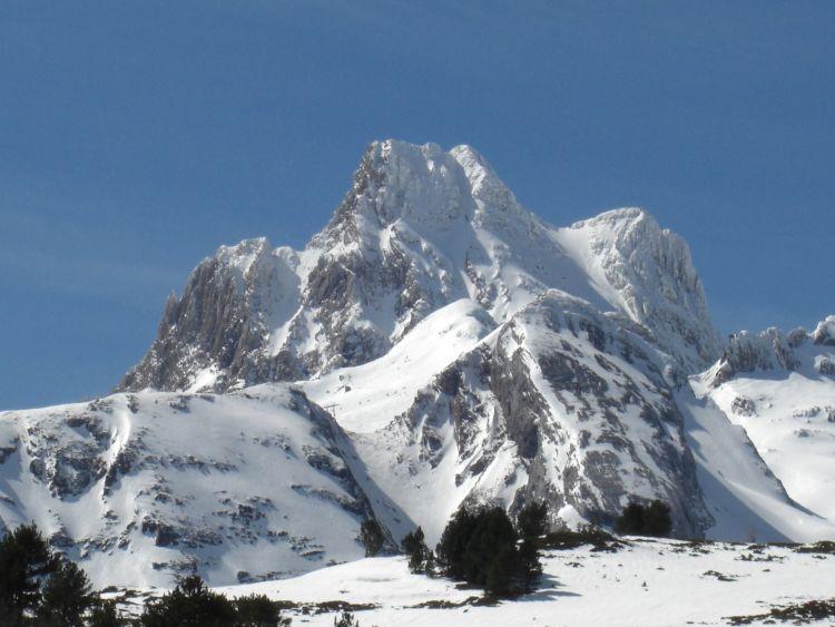 Pico de Aspe ou pico de la Garganta