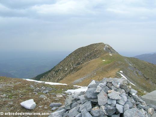 Pic de Cagire depuis le Pic Poque