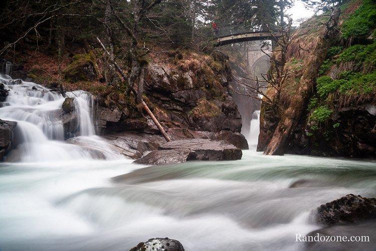 Randonnée sur le Chemin des cascades à Cauterets