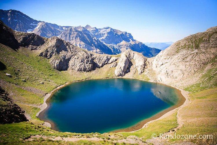Randonnée pédestre : Col, lac et pic de la Bernatoire