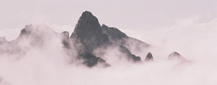 Les pics d'Yéous depuis la grande Estibère
