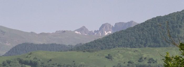 La Péne deth Pouri depuis le G.R. 101, à Lourdes