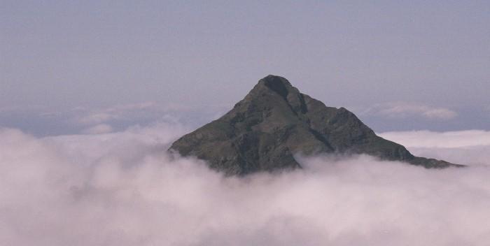 Le Montaigu depuis pène Lounque
