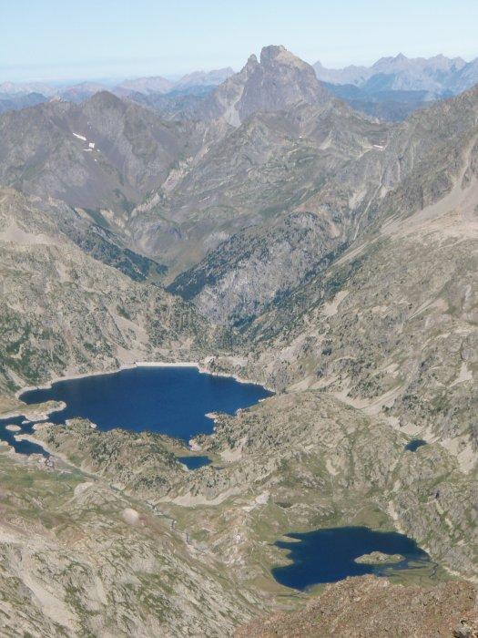 L'ossau et les lacs de Campo Plano et Respumuso