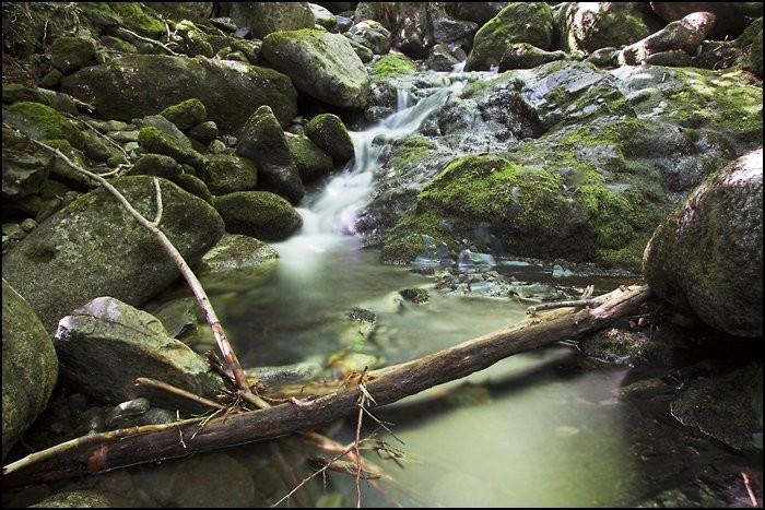 Cascades près du départ du lac de Bastampe