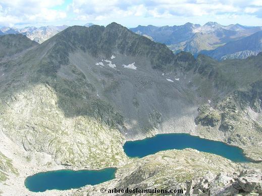 Les lacs de Comalesbienes