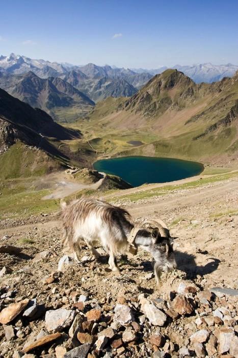 Lac d'Oncet en montant au pic du Midi