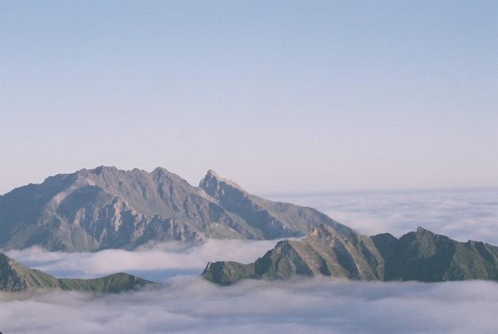 L'arête Sud  du Pic du Midi d'Arrens, donc