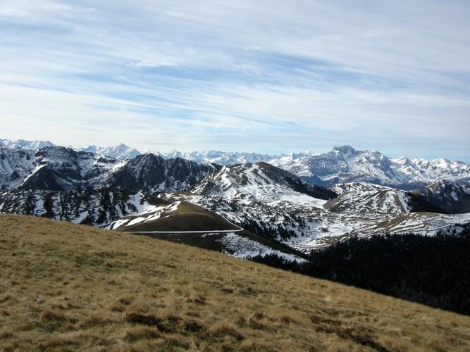 Mont Aspet et la station de fond du Nistos