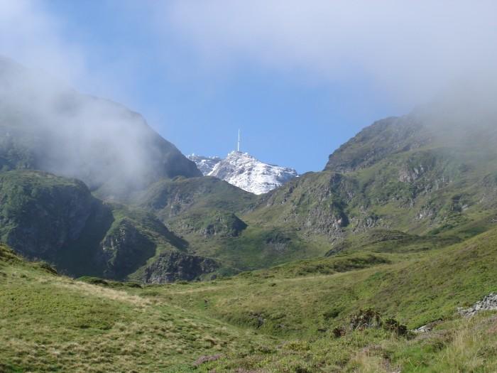 Pic du Midi de Bigorre quand on monte au lac de l'oeuf