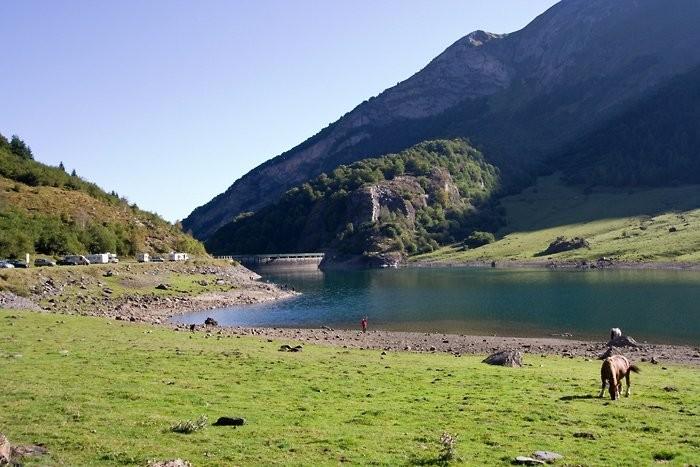 Lac et barrage du Tech
