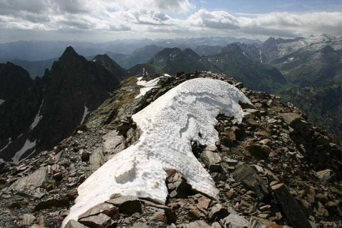 Randonn�e : Le Pic de La Sauvegarde (2738m)