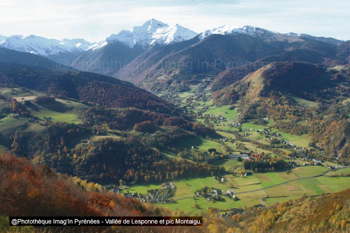 Montaigu et vallée de Lesponne
