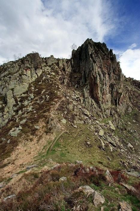 Dernière montée pour le sommet du pic de Pan