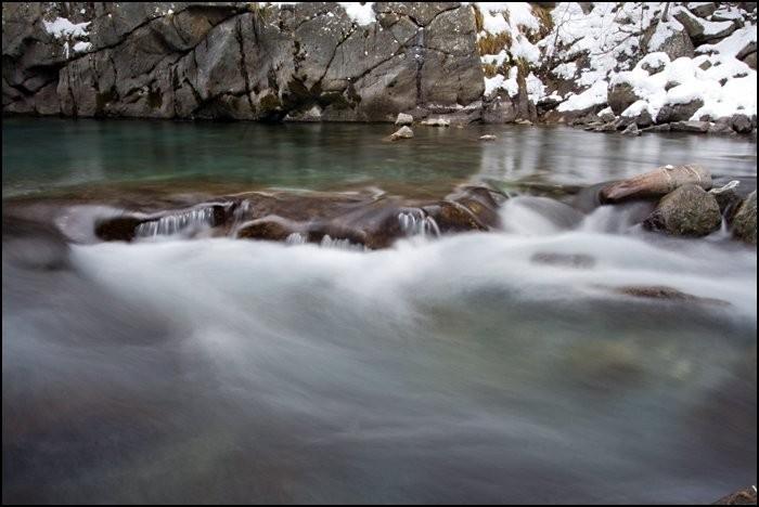 Cours d'eau entre Gèdre et Gavarnie