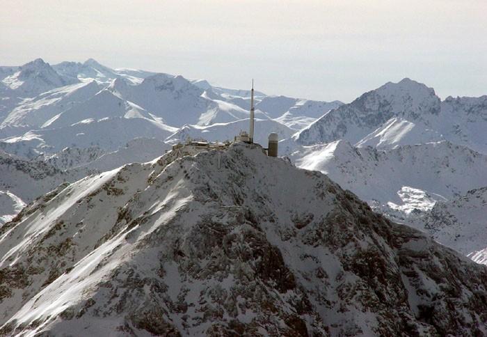 Vue aérienne du Pic du Midi
