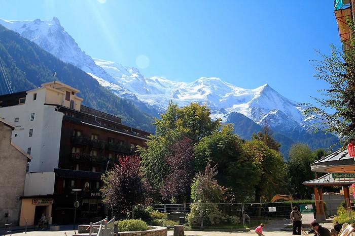 Chamonix, la montagne dans la ville