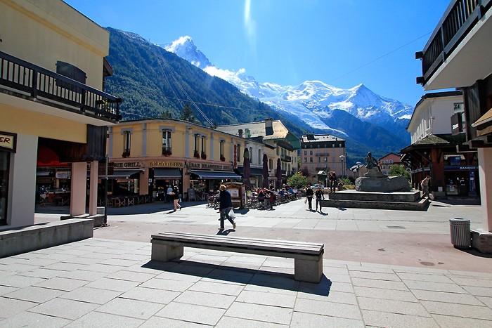 Centre ville de Chamonix