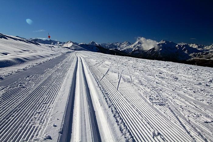 Hautacam c'est aussi une station de ski de fond