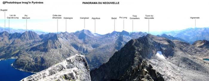 Panorama du Néouvielle