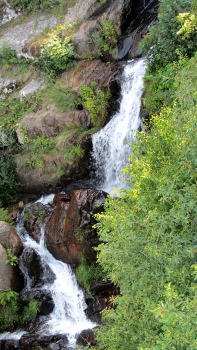 Cascade du Saut du Chien, vue de près