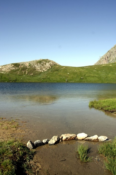 Lac de Souliers dans les Hautes Alpes