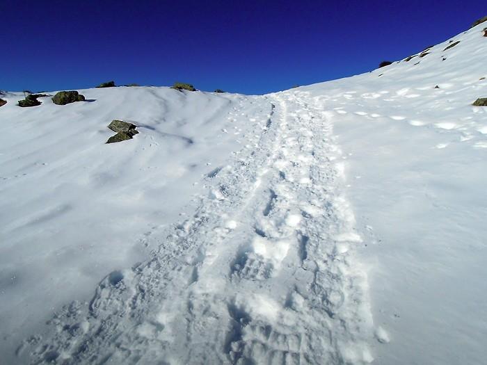 Balade à Hautacam dans la neige fraiche