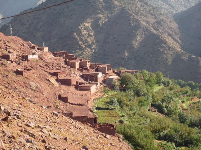 Randonnée les villages berbères di Toubkal