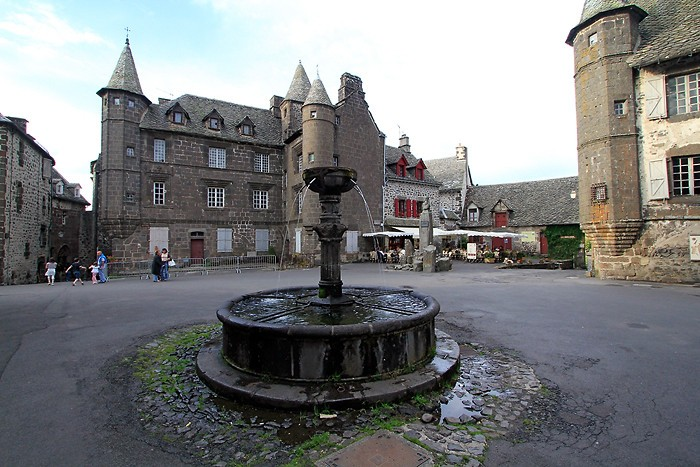 Salers, un des plus beaux villages de France