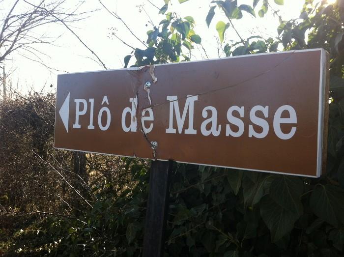 Plô de Masse en Aveyron, Midi Pyrénées, au dessus de la Vallée du Lot