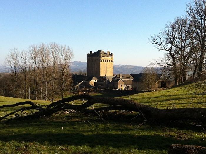 Plô de Masse en début d'après midi, Aveyron, Midi Pyrénées
