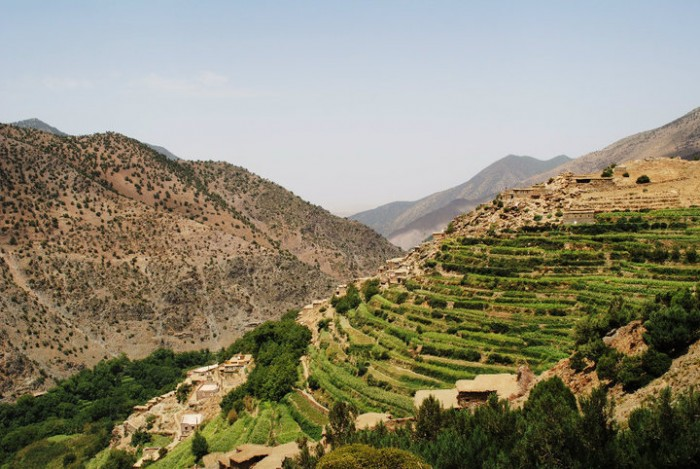 Mini trek au maroc