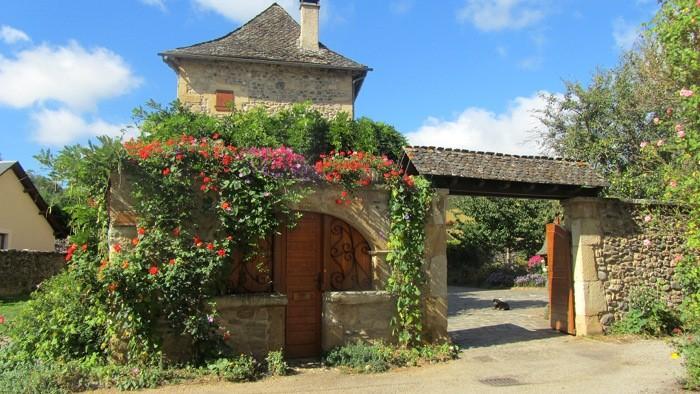 Village Aveyronnais de Sainte Eulalie d'Olt