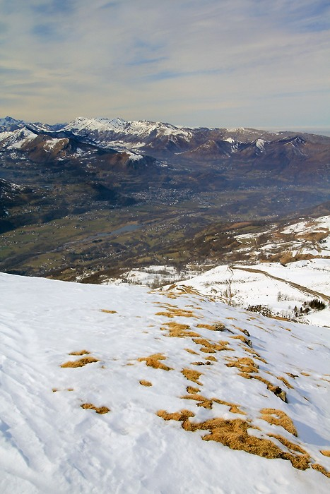 Vue sur la vallée de Pierrefitte-Nestalas depuis Hautacam